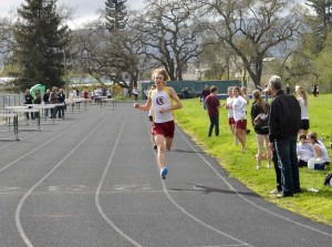 Finish of 1600m