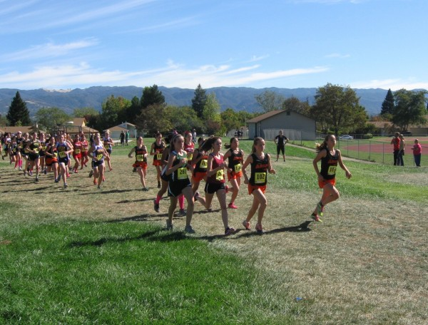 Start of girls race