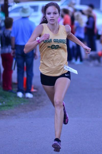 Adria Barich, junior, Casa Grande 3rd NBL, 5th NCS II, State participant, won 3 tri-meets