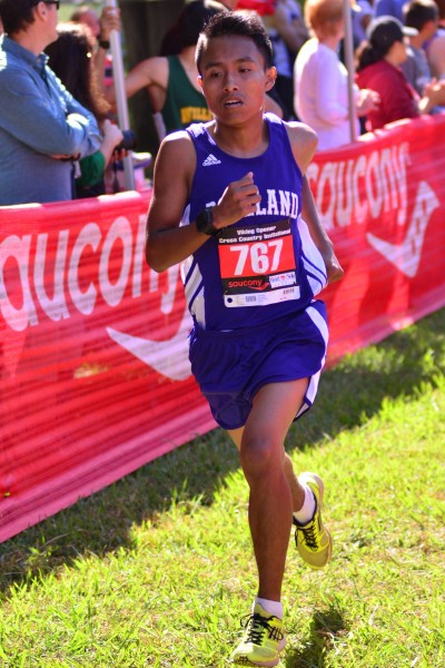 Brandon Escandon, junior, Roseland Prep 4th CMC, 21st NCS V, 3rd Jr Viking