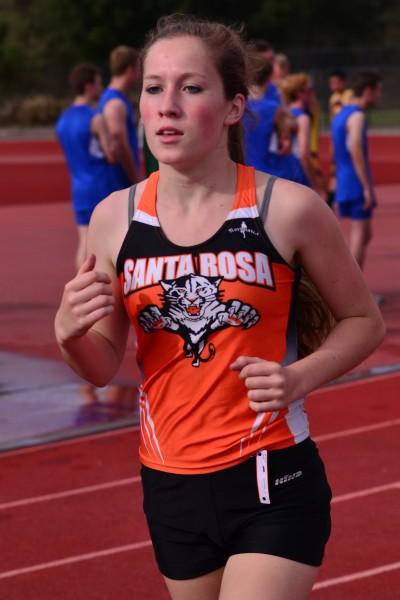 Marie Doyle, freshman, Santa Rosa 9th NBL, 27th NCS II