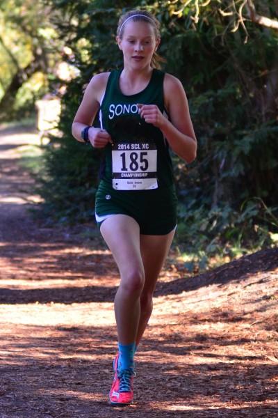 Quinn Jensen , freshman, Sonoma Valley 3rd SCL