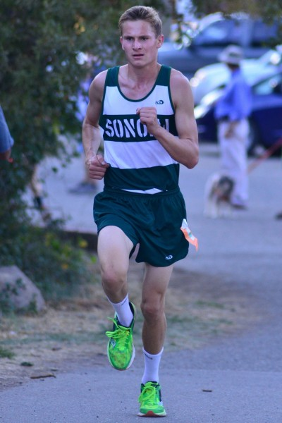 Travis Claeys, junior, Sonoma Valley 4th SCL, won 1 tri-meet