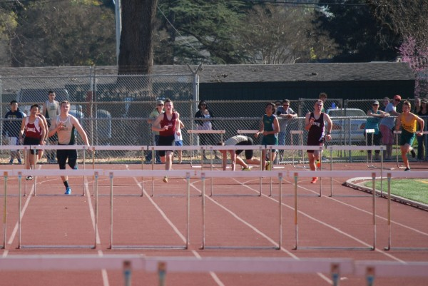 Boys 300 hurdles