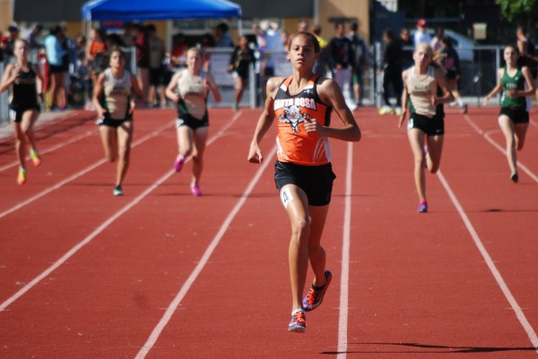Kirsten Carter had a prep best in the 400 at 59.01.