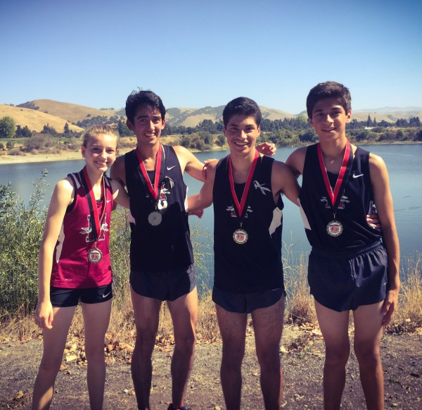 Gabriell Peterson - 4th place Varsity Girls Eddie Mondragon - 9th place Varsity Boys Luis Quezadas - 7th place Varsity Boys Dante Godinez - 5th place Vaisty Boys