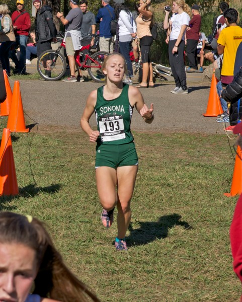 8th Maddy Libby, SV in 19:33 by Thomas Benjamin