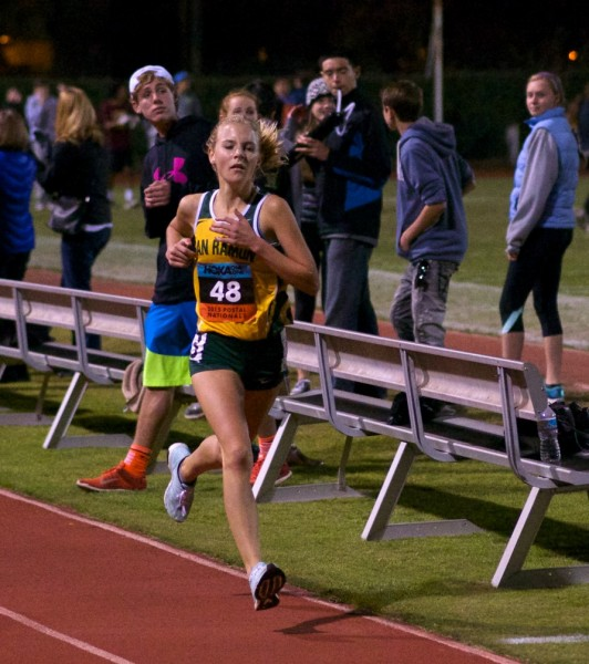 Kate Tavella, San Ramon Valley 1st 10:57.67 by Thomas Benjamin